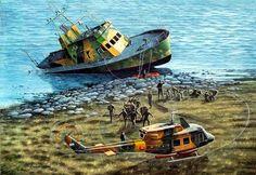 El ataque al GC Iguazú Falklands war