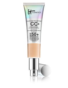 IT Cosmetics Your Skin But Better CC Cream with SPF 50+, medium coverage but not perfecting... better for dry skin