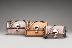 Bottega Veneta Intreccio Border Calf Sphere Bag Shown In Blush, Palazzo