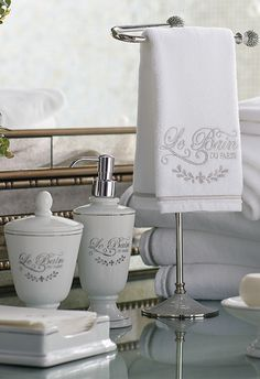 Infuse any bath with the fresh, timeless air of French apothecary-inspired design.
