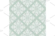 Damask vector floral blue pattern with arabesque and oriental white elements. Seamless abstract traditional ornament for wallpaper and background Vignette Design, Background Vintage, Arabesque, Vector Pattern, Abstract Backgrounds, Vignettes, Graphic Design, Damask Patterns, Wallpaper