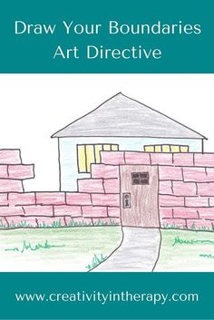 Creativity in Therapy: Draw Your Boundaries Art Directive