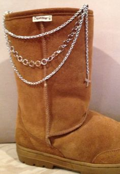 Boot jewelry--like this too