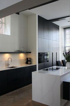 Kitchen Room Design, Bathroom Interior Design, Kitchen Interior, Kitchen Decor, Kitchen Rules, Hidden Kitchen, Minimalist Bathroom, Cool Kitchens, New Homes