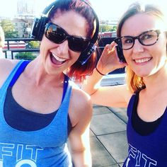 Rooftop fitness class by Fitness in the City and yoga by The River with silent disco at The Metlo @fitlodenver