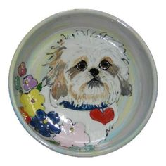 Coco Poof Dog Bowl