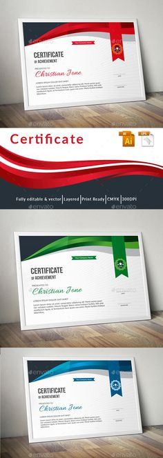 #Certificate - Certificates Stationery Download here: https://graphicriver.net/item/certificate/19425364?ref=alena994