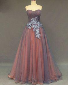 Sweetheart Prom Dress,Applique Prom Dress,Illusion Prom Dress,Fashion Prom
