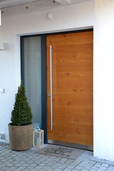 Haustüren, Holz, modern, schick