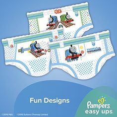 Pampers Boys Easy Ups Training Underwear 3T-4T (Size 5) 148 Count