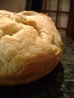 Rosemary-Garlic Round Bread.