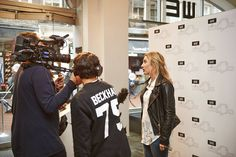 WE Fashion - VIP Shopping Night event - Collection for Doutzen - Interview