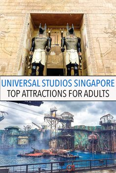The best rides and attractions for adults at Universal Studios Singapore on Sentosa Island