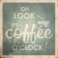it's always #coffee o'clock somewhere in the world! ;)