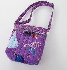 Disney Frozen - Sisters Forever - Purple Crossover Purse by StitchesandSparkle, $30.00