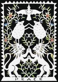 Papercut: Peace by Julie Paschkis