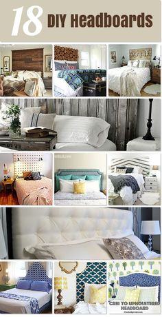 18 DIY Headboards that will inspire you to create!