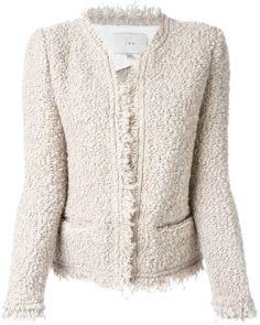 Iro loop knit cardigan