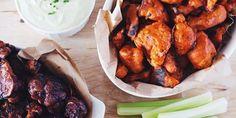 Cauliflower Buffalo Wings and Vegan Ranch Dip Recipes   Food Network Canada