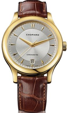 6f40f9cce48278 161907-0001 Chopard LUC Silver Dial Mens Self Winding Automatic Mens Watch