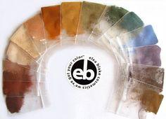 The Elea Blake Cosmetics True Autumn Eye Shadow rainbow