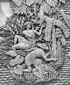 Bas relief de Alfred Janniot. #BasRelief #Sculpture #Art #LowRelief