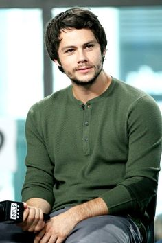 Dylan O'Brien at AOL Build in New York City - September 6, 2017
