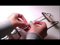 Beading Ideas - How to weave a bracelet using a beading loom