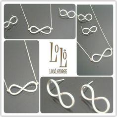 Amanhã é dia de entrega.  #lologiorge #prata950 #colares #infinito #brinco #colar #euquefaço #personalizado #exclusivo #encomenda  www.lologiorge.com.br