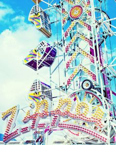 Amusement Park by Amy Williams by AmyWilliamsPhoto on #Etsy, $30.00
