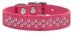 Mirage Pet Products Sprinkles Clear Crystal Leather Pink Dog Collar * Visit the image link more details. (This is an affiliate link and I receive a commission for the sales)