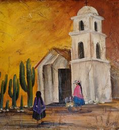cuadros con esmalte acrilico eterna - Buscar con Google Mexican Paintings, Mini Paintings, Acrylic Canvas, Canvas Art, Peruvian Art, Indigenous Art, Mexican Folk Art, Pictures To Paint, Rock Art