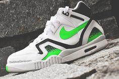 Nike Air Tech Challenge 2 - Poison Green (More Images) | KicksOnFire.com