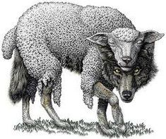 The psychopath -- a wolf in sheep's clothing. Psychopaths and Love don't mix.