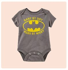 Baby Hero Cute Baby Onesie | My Baby Canvas