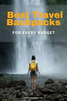 Looking for the Best Travel Backpacks for your needs and budget? Here are some of the top picks on quality Travel Backpacks for every budget. #travelpacks #backpack #travelbackpack #luggage #travel Best Hiking Backpacks, Best Travel Backpack, Pack Your Bags, What Inspires You, Day Hike, Traveling By Yourself, Budgeting, Travel Tips, Vacation