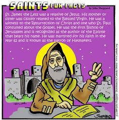 Saint of the Day: St. James the Lesser. May 3, 2013