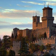 Monte Titano, San Marino, Italy