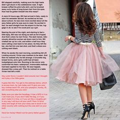 Pink Tulle Skirt, Tg Stories, Tg Caps, Long Brown Hair, Tg Captions, New You, Luxury Jewelry, Feminism, Skirts