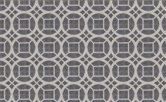 Popham Tiles - Fretwork On One - Dove + Milk