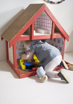 our Vintage Dollhouse