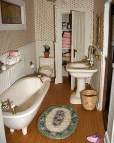 my dollhouse bathroom