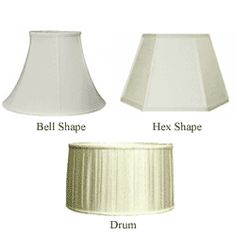 Lamp Shade Shapes candlewick lamp shades, 12 | lamps and accessories | pinterest