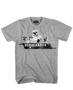 46d8eda923053f Star Wars The Force Awakens  First Order Trooper T-Shirt