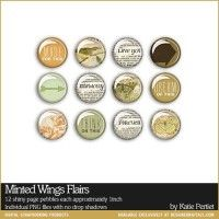 Minted Wings Flairs