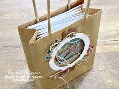 The Gift of Fall August 2019 Paper Pumpkin Alternatives 12x12 Scrapbook, Scrapbook Page Layouts, Preschool Christmas Crafts, Crafts For Kids, Paper Bag Album, Paper Bags, Smash Book Pages, Paper Bag Puppets, Stampin Up Paper Pumpkin