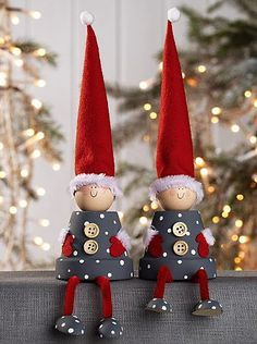 Christmas ....flower pot gnomes