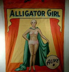 Vintage Side Show Banners