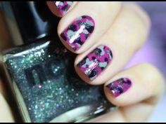Nail Art Military blog en Beauté