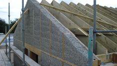 GROWING HOMES: Hempcrete being used to create housing.